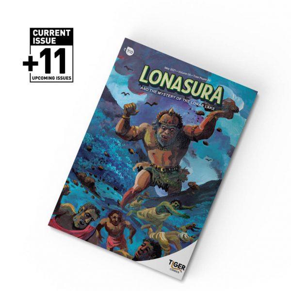 Annual Subscription Lonasura - Tiger Comics